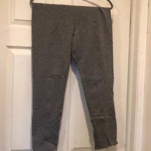 Aerie size zip yoga pants/leggings